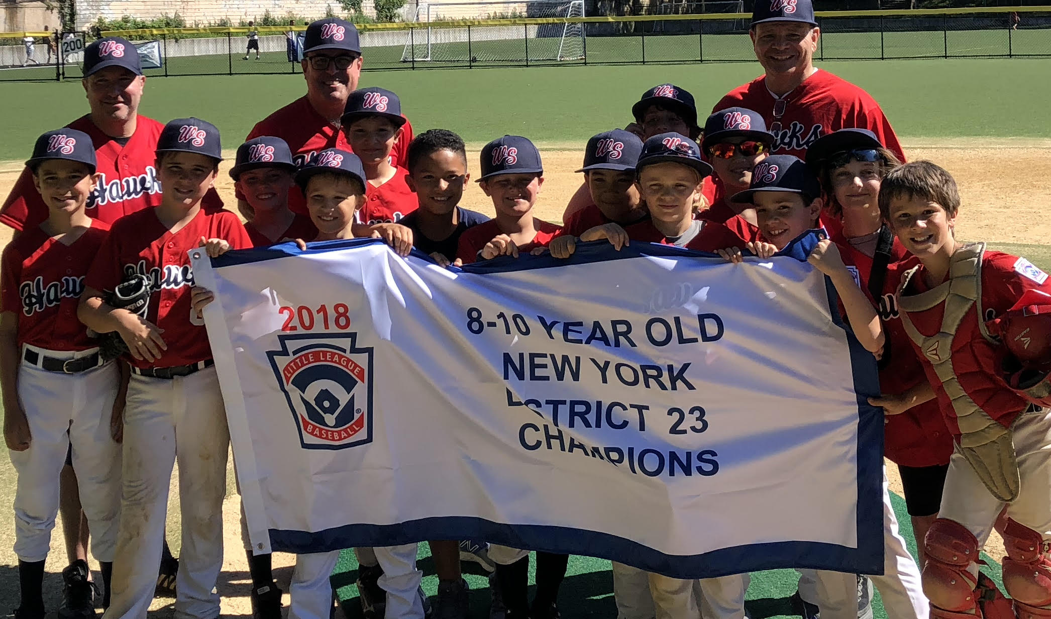 West Side Little League's 10u Tournament Team, The Hawks, WON the 8-10 YEAR OLD NEW YORK 2018 District 23 CHAMPIONSHIP!