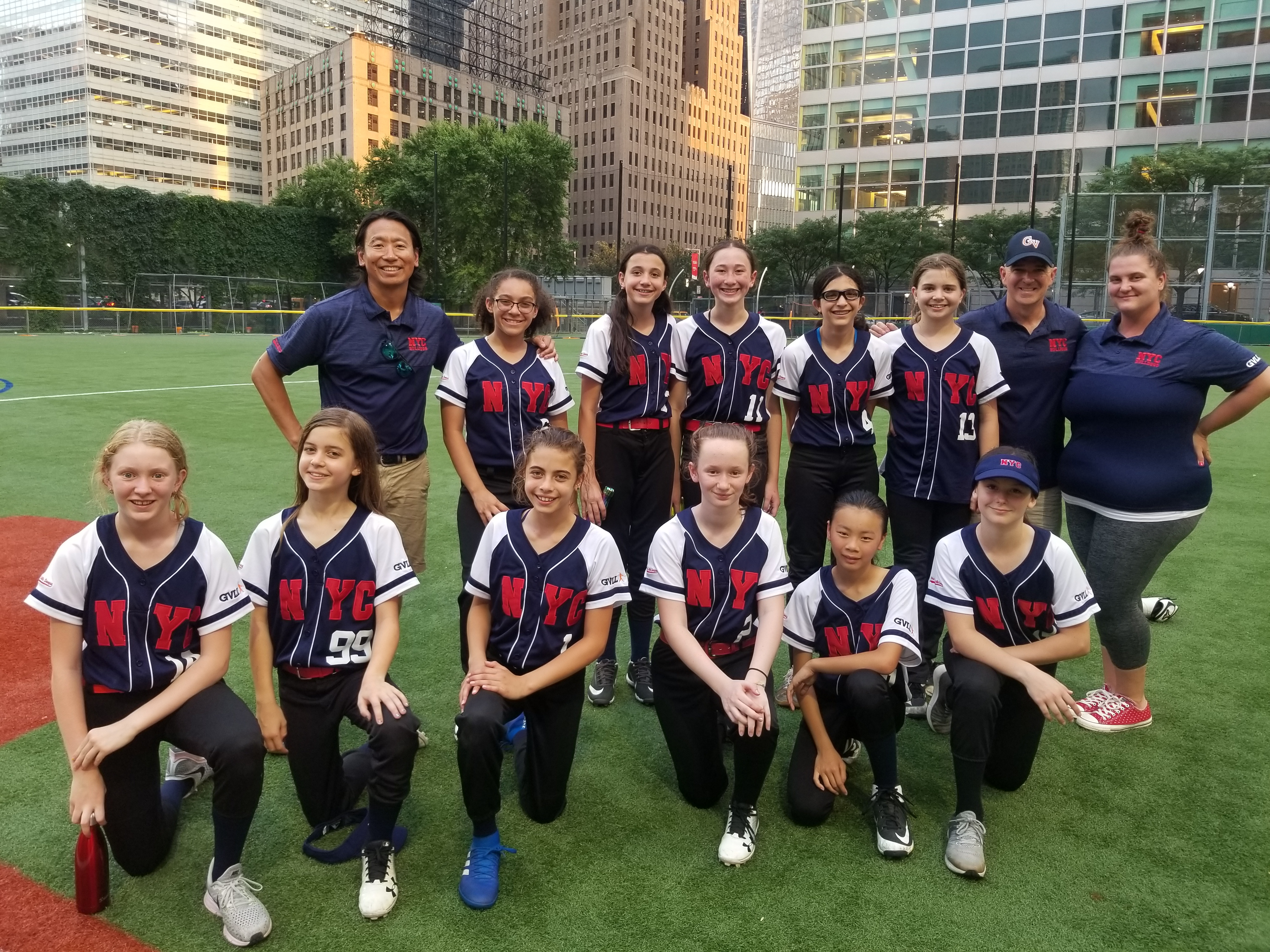 12u Girls Softball Combined West Side/Greenwich Village team Wins District 23 Championship!