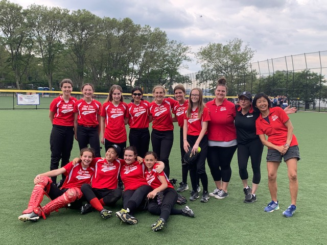 West Side Little League's 2019 Junior Girls Softball team
