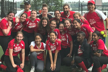 Juniors Girls team--the Storm won the Spring 2018 Manhattan Junior Girls Softball Championship