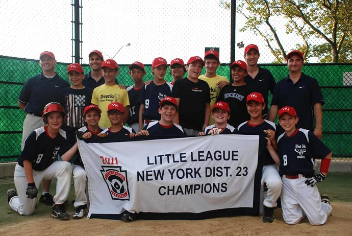 11-12s Tournament Team - 2011 District 23 Champions!
